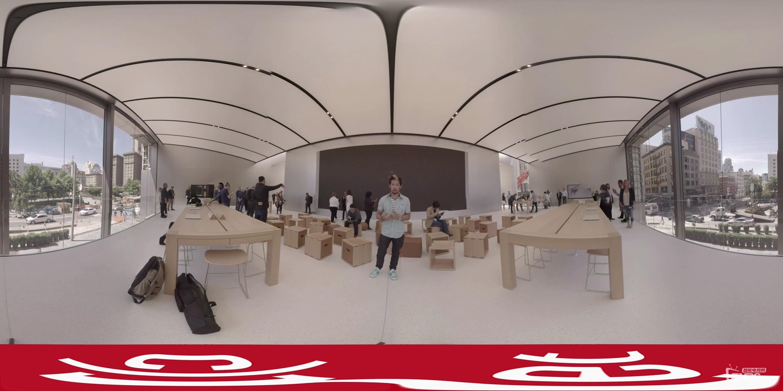 首次360曝光外国苹果apple全新设计风格旗舰店applestore_绝密!优酷首发!_2016101922.jpg