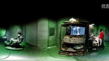 VR全景视频:全景体验恐怖僵尸吞噬活人