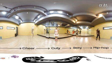 VR全景视频:韩国可爱小萝莉 舞分身才艺表演
