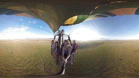 VR全景视频:可怕的热气球(勇者挑战)