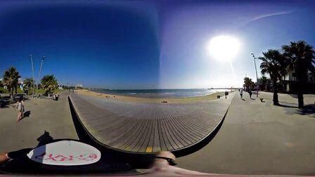 VR全景视频:澳大利亚_墨尔本街头滑板之旅