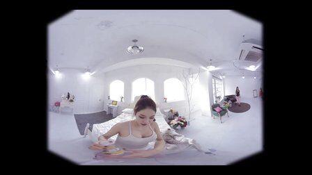 VR全景视频:美女健身第一视角