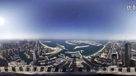 VR全景视频:8K超高清城市风光
