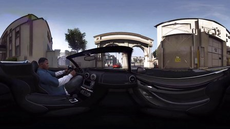VR全景视频:侠盗猎车