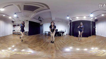 VR全景视频:性感黑衣韩舞