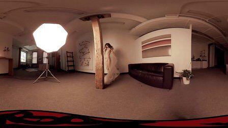 VR全景视频:玫瑰妹妹