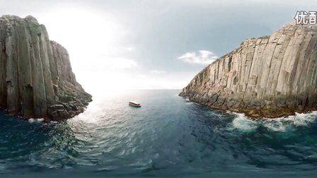 VR全景视频:塔斯马尼亚海岸风景