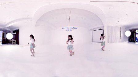 VR全景视频:韩国4岁舞蹈神童 全景视频