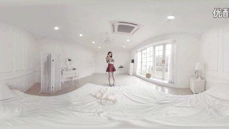 VR全景视频:韩国女主播卧室VR直播