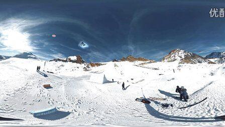 VR全景视频:极限运动刺激滑雪