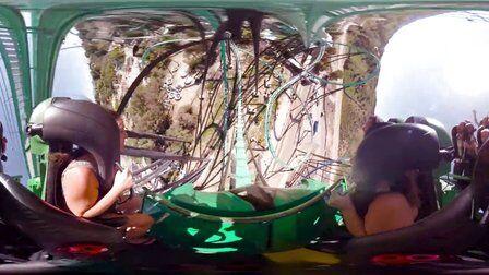VR视频:巨型过山车