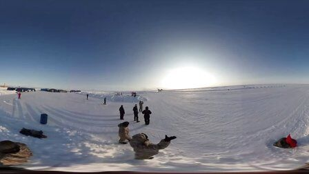 VR全景视频:俄罗斯北极军事训练营