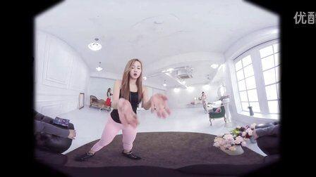 VR全景视频:韩国健身房女孩